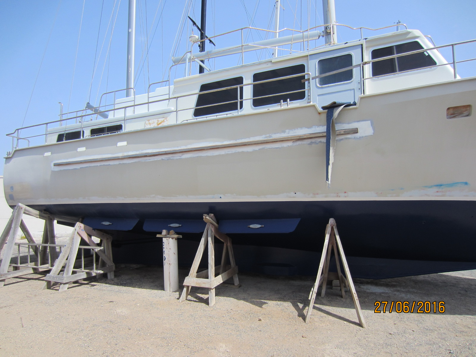 STEEL MOTORSAILER PROJECT BOAT – Yachting España
